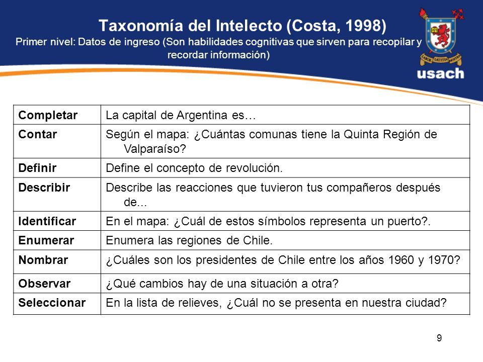 La capital de Argentina es… Contar