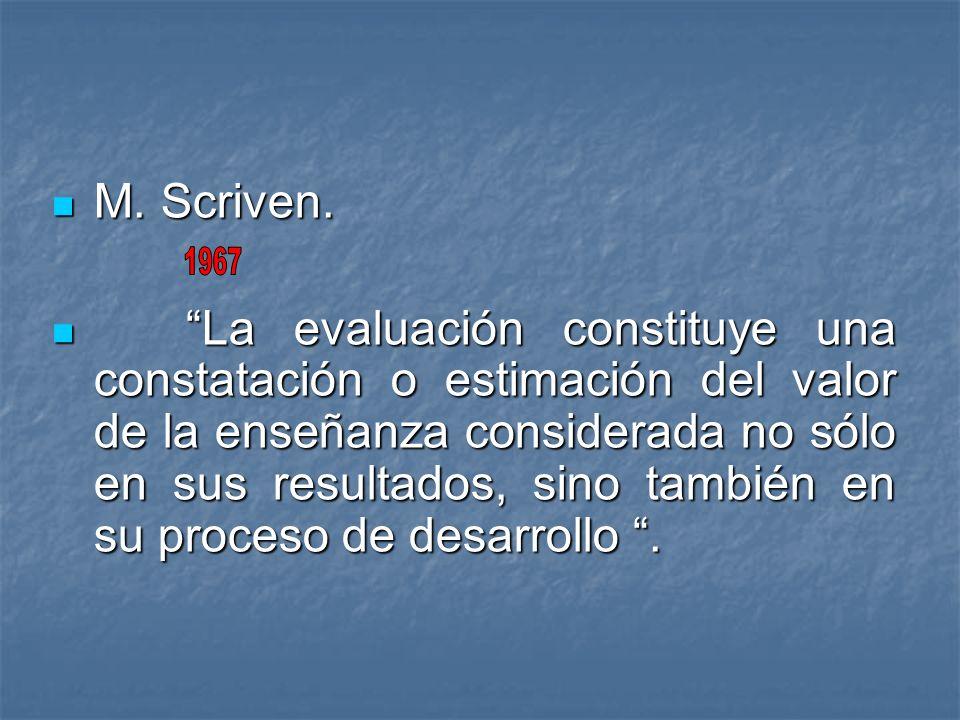 M. Scriven.