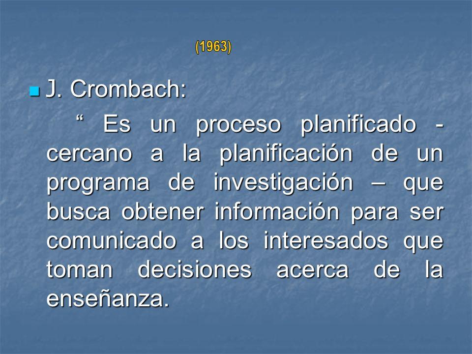(1963) J. Crombach: