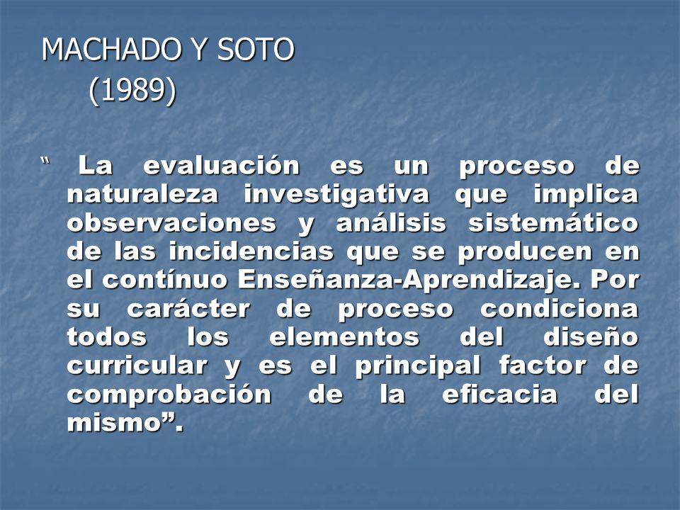 MACHADO Y SOTO (1989)