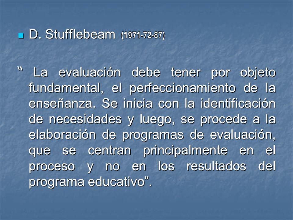 D. Stufflebeam