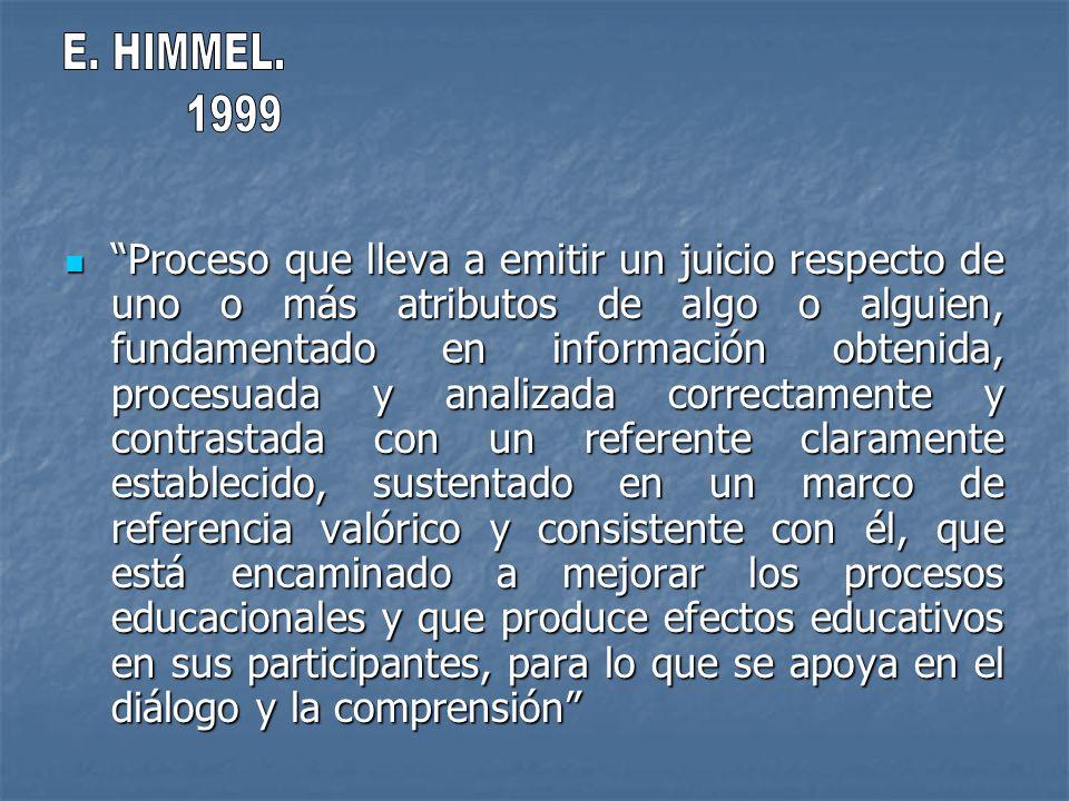 E. HIMMEL. 1999.