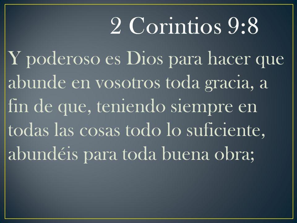2 Corintios 9:8