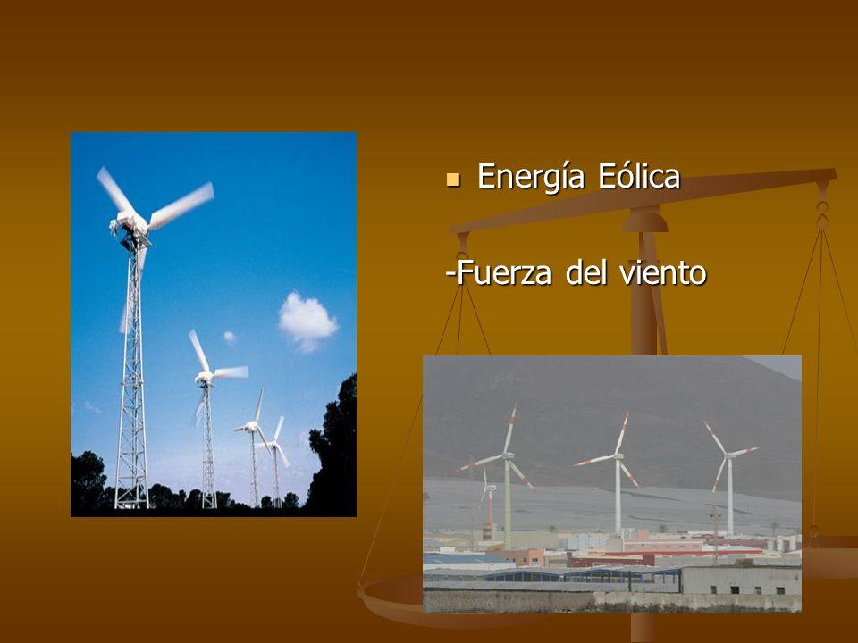 Energía Eólica -Fuerza del viento