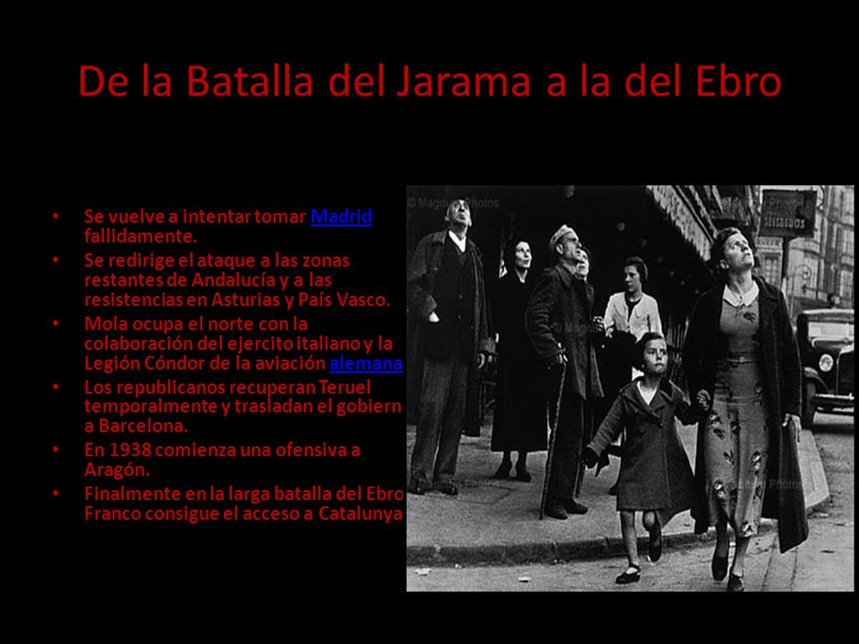 De la Batalla del Jarama a la del Ebro