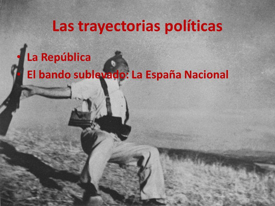Las trayectorias políticas