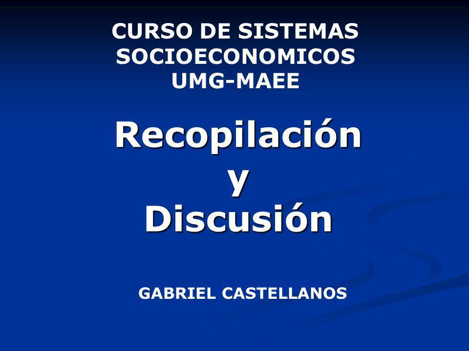 Recopilación y Discusión
