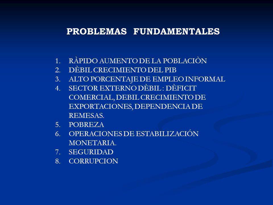PROBLEMAS FUNDAMENTALES