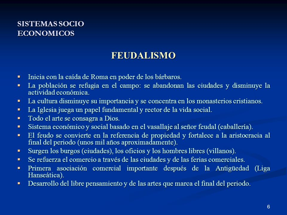 SISTEMAS SOCIO ECONOMICOS