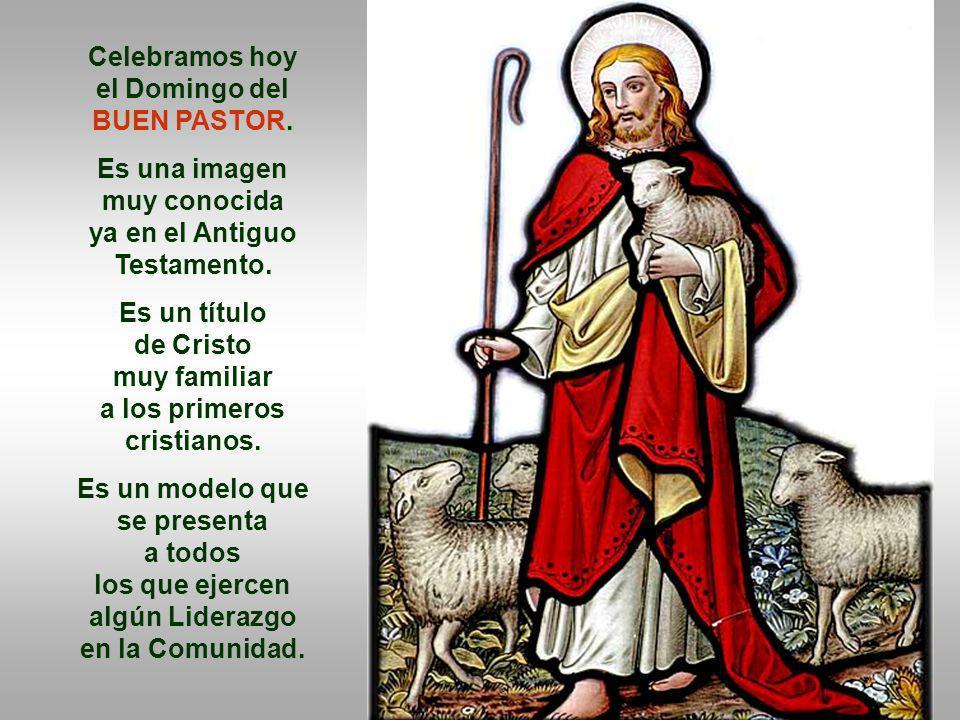 el Domingo del BUEN PASTOR.