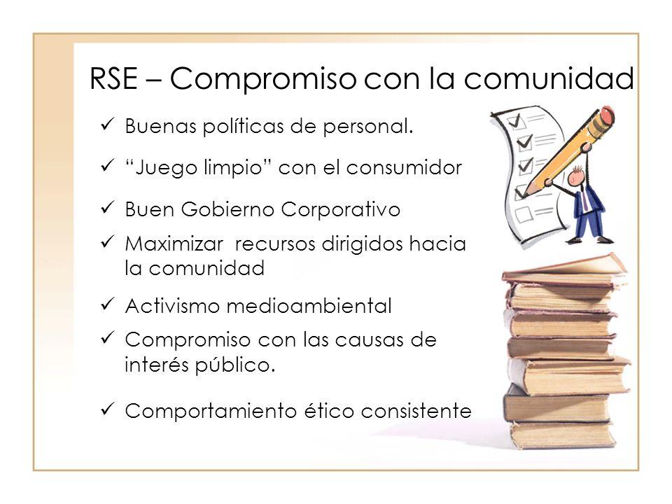 RSE – Compromiso con la comunidad