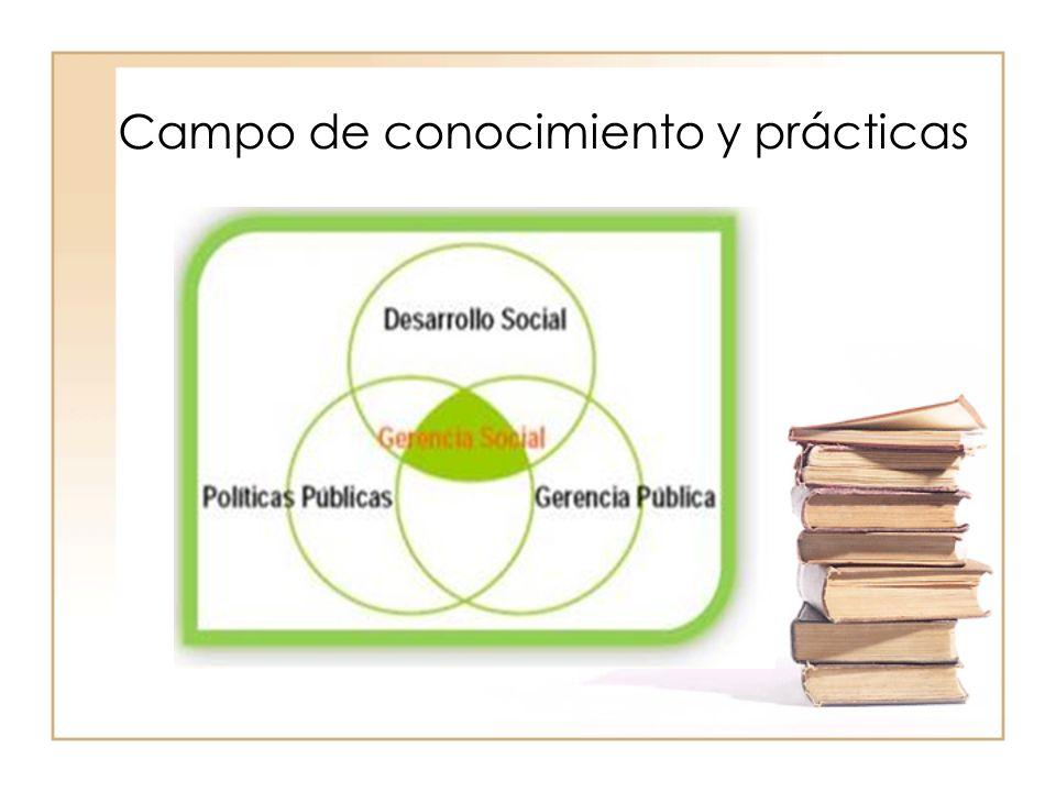 Campo de conocimiento y prácticas