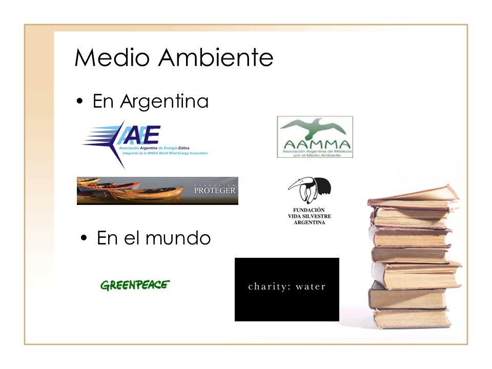 Medio Ambiente En Argentina En el mundo