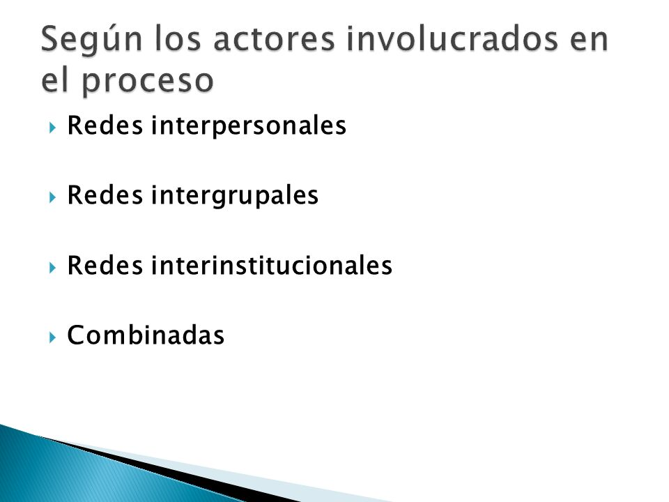 Según los actores involucrados en el proceso