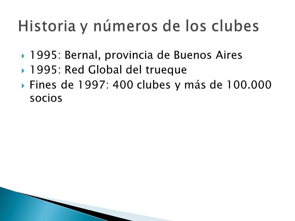 Historia y números de los clubes