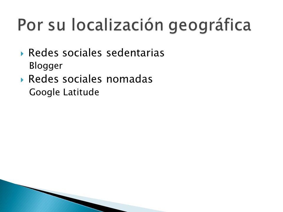 Por su localización geográfica
