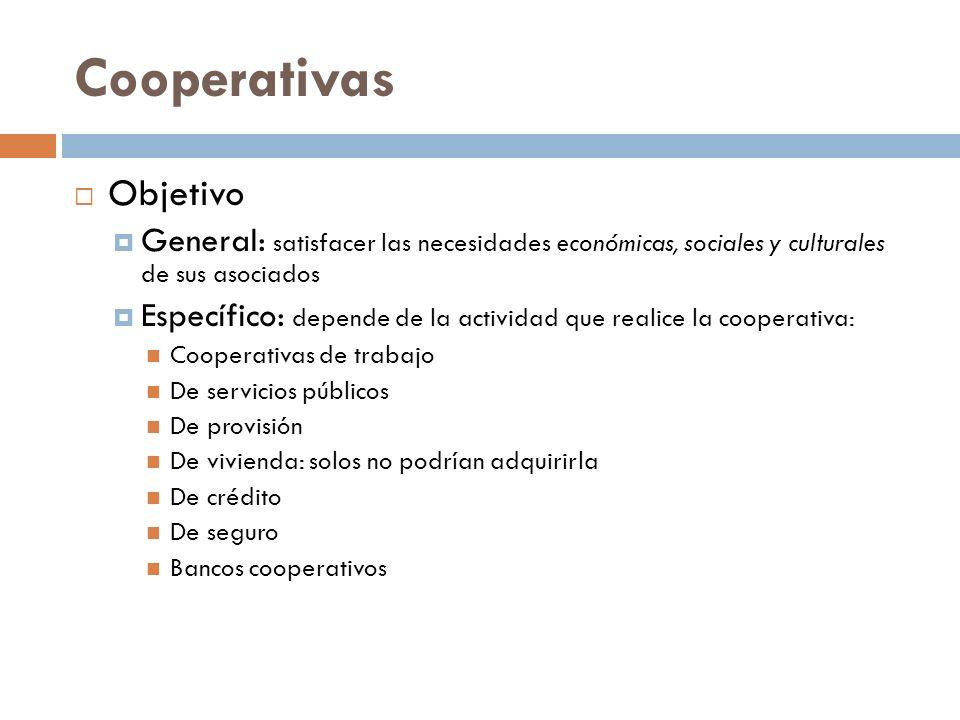 Cooperativas Objetivo