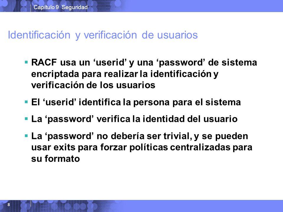 Identificación y verificación de usuarios