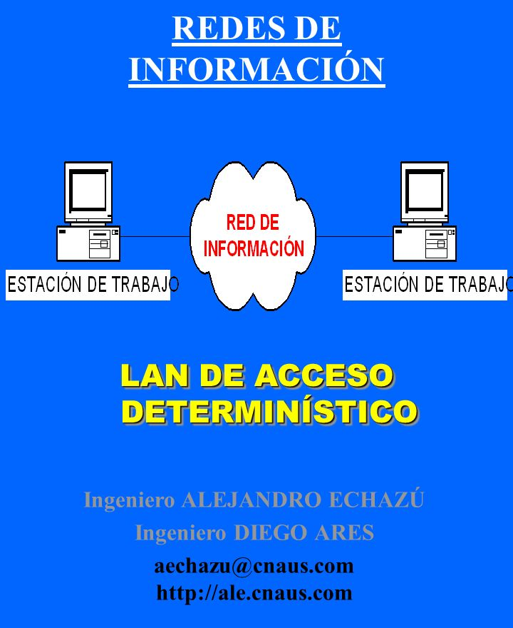 REDES DE INFORMACIÓN LAN DE ACCESO DETERMINÍSTICO
