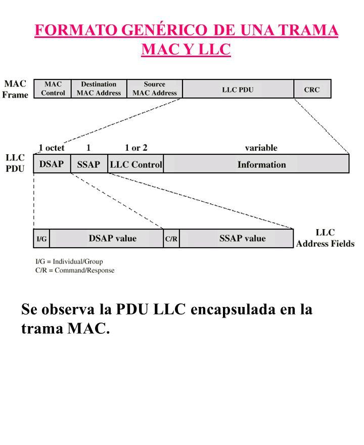 FORMATO GENÉRICO DE UNA TRAMA MAC Y LLC