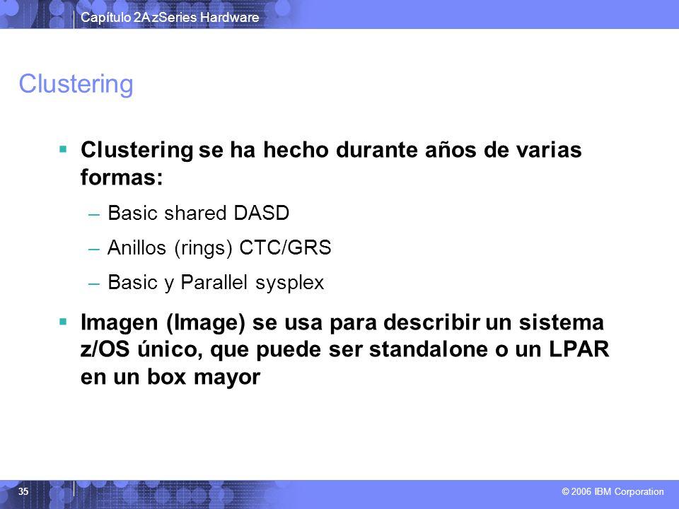Clustering Clustering se ha hecho durante años de varias formas: