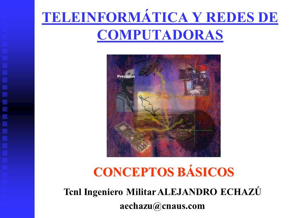 TELEINFORMÁTICA Y REDES DE COMPUTADORAS