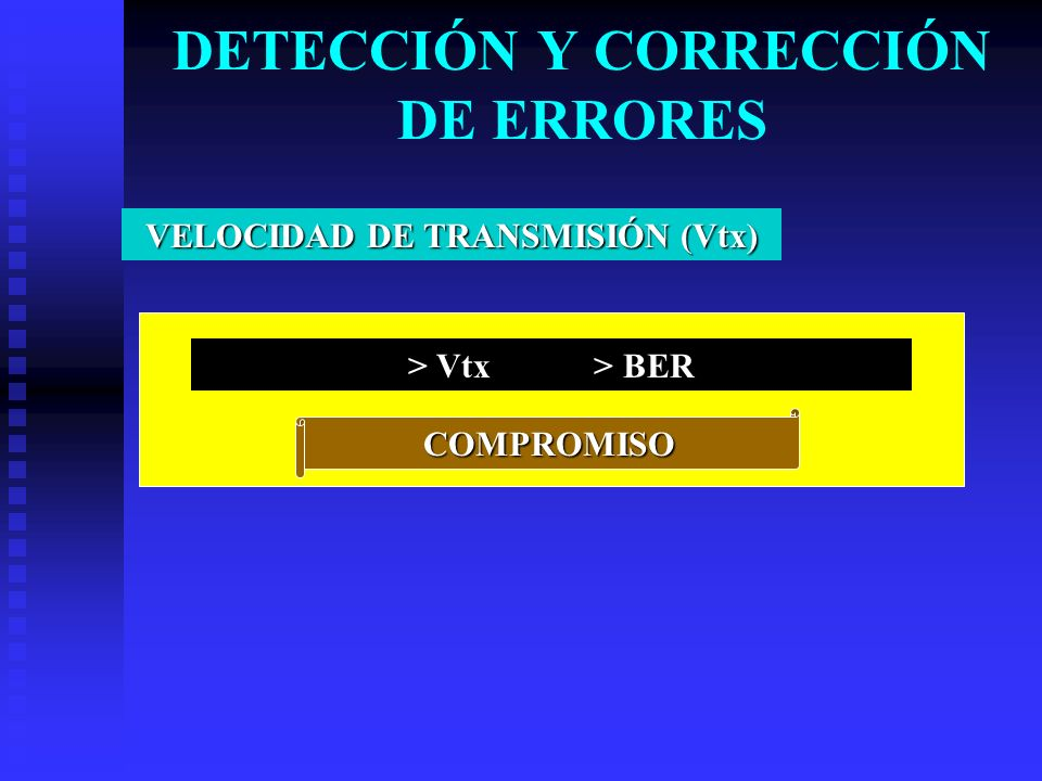 DETECCIÓN Y CORRECCIÓN DE ERRORES