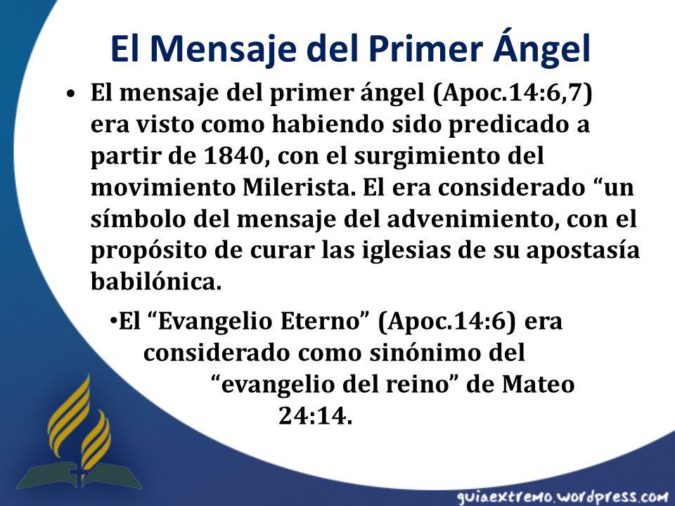 El Mensaje del Primer Ángel