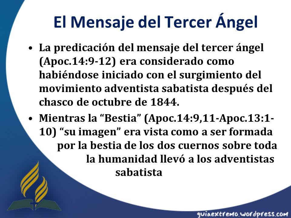 El Mensaje del Tercer Ángel