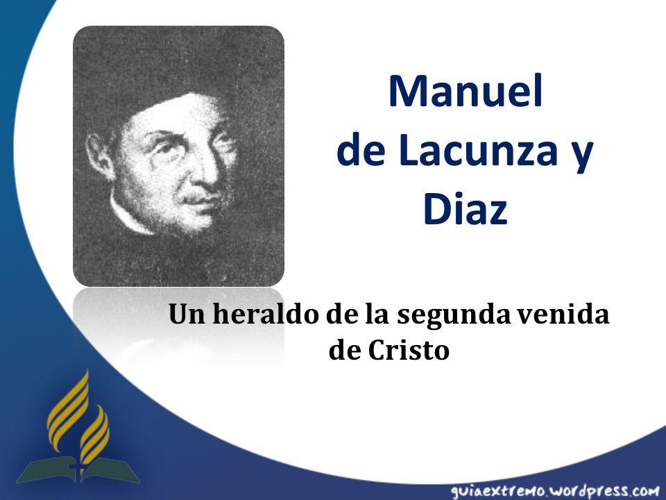 Manuel de Lacunza y Diaz