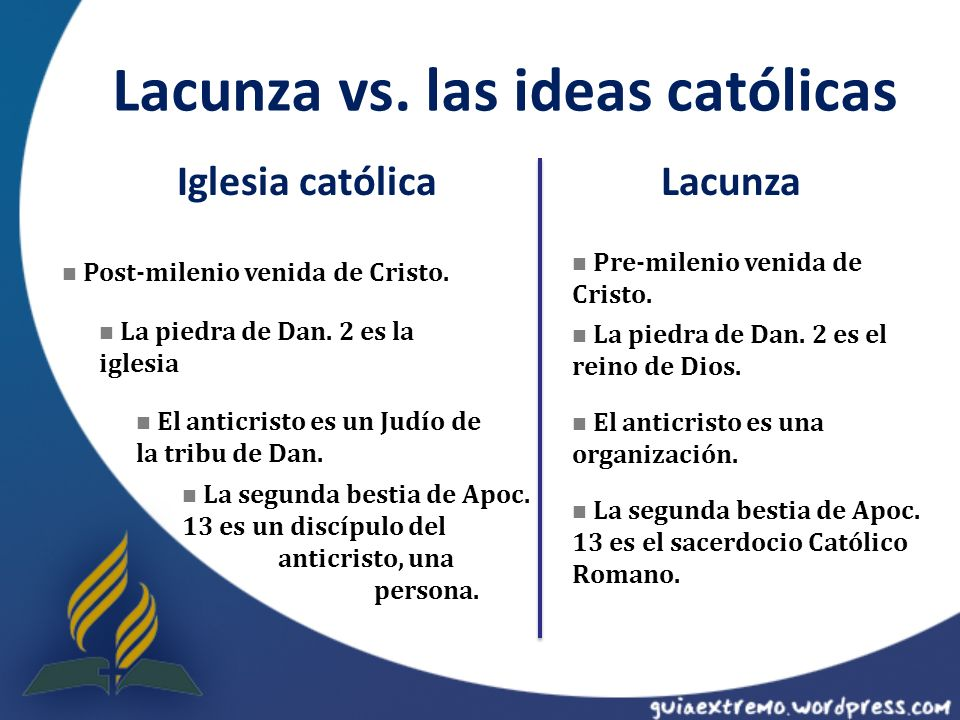Lacunza vs. las ideas católicas