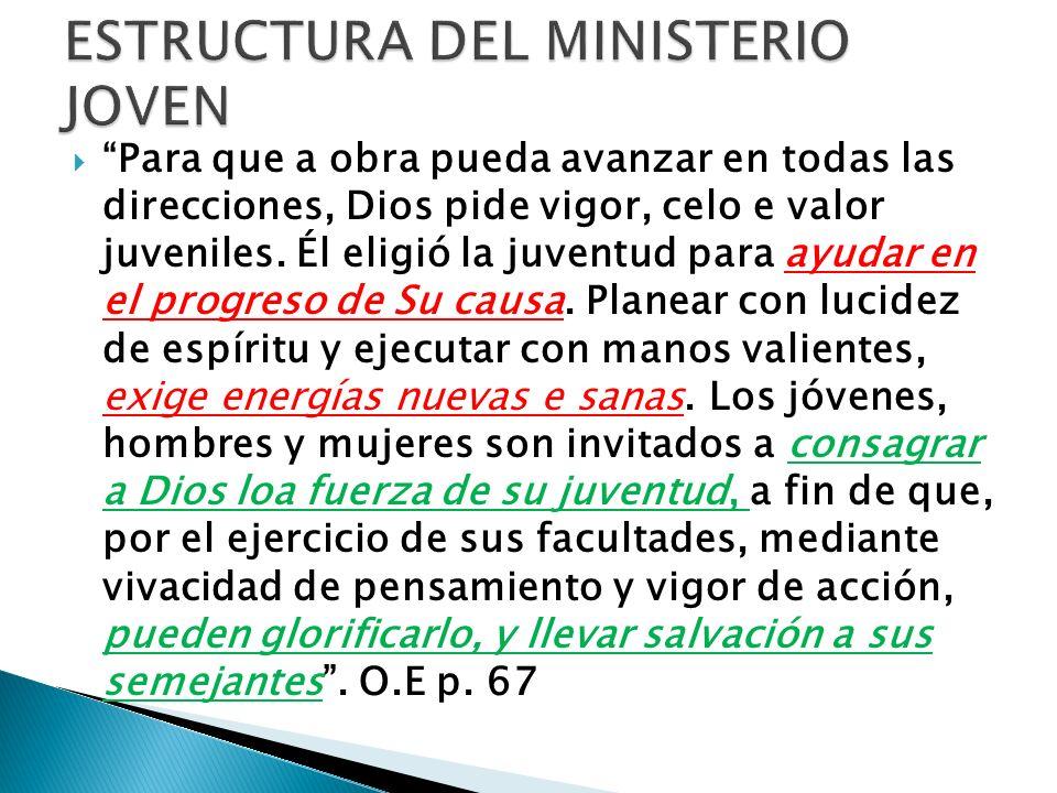 ESTRUCTURA DEL MINISTERIO JOVEN
