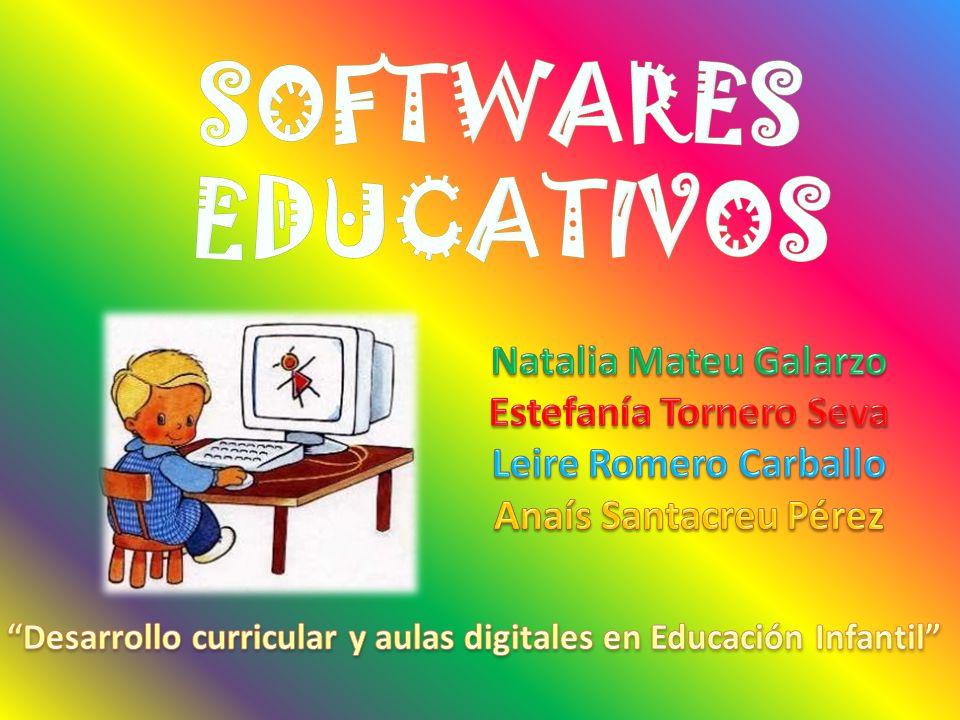 SOFTWARES EDUCATIVOS Natalia Mateu Galarzo Estefanía Tornero Seva