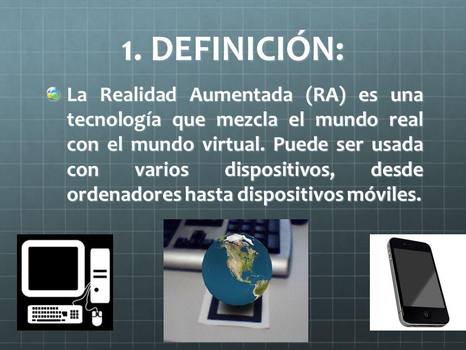 1. DEFINICIÓN:
