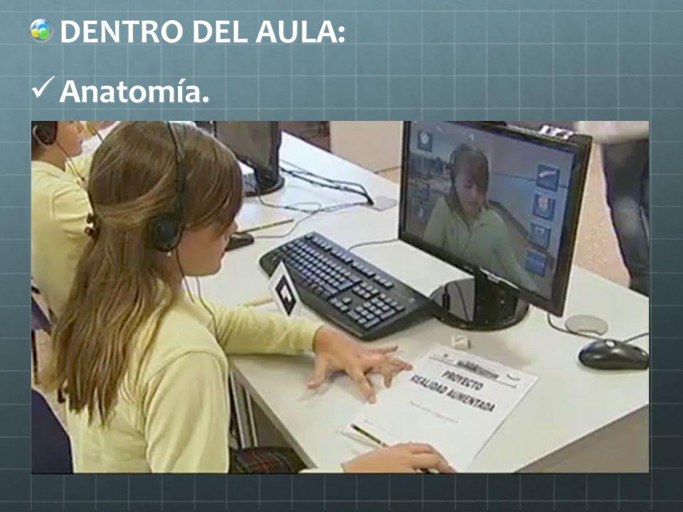 DENTRO DEL AULA: Anatomía.