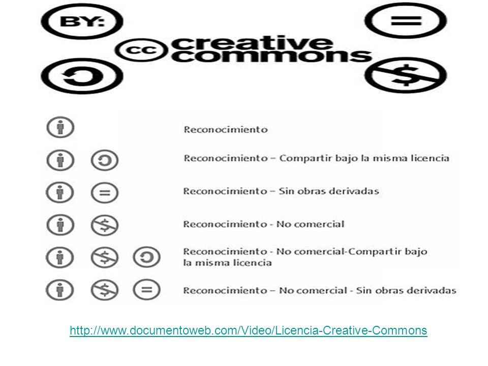 http://www.documentoweb.com/Video/Licencia-Creative-Commons