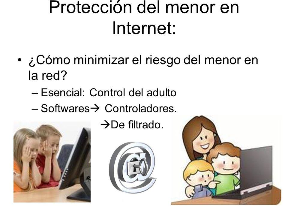 Protección del menor en Internet: