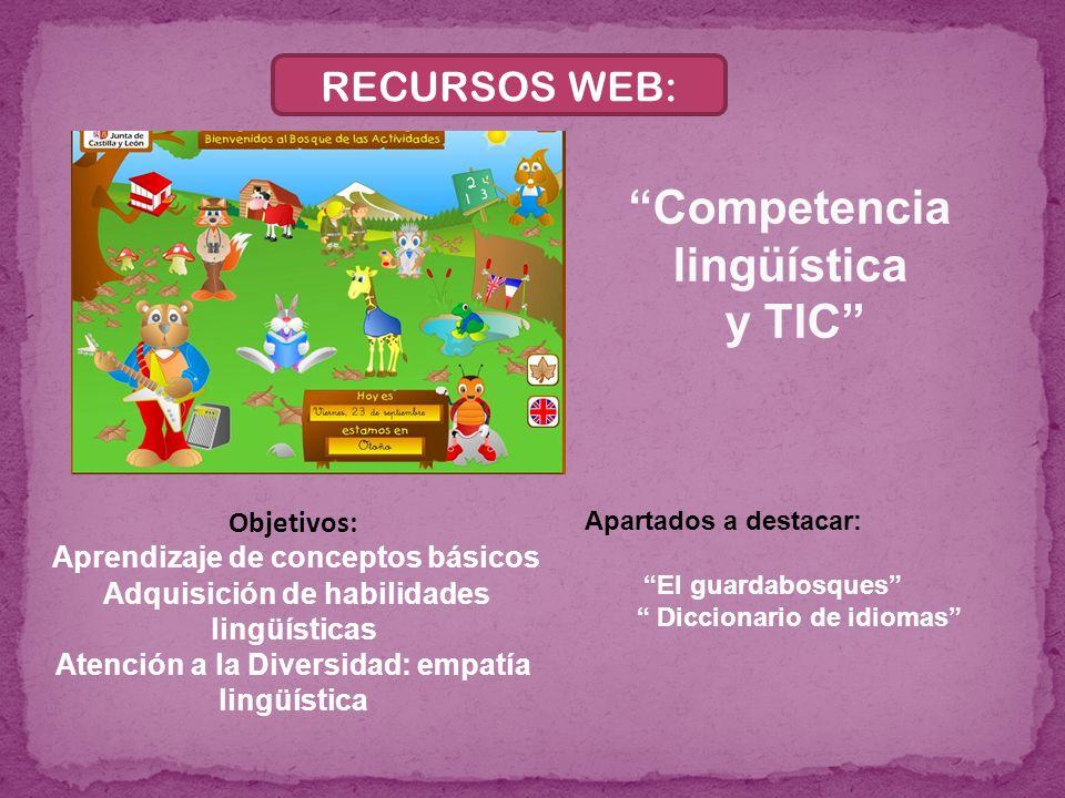 Competencia lingüística y TIC