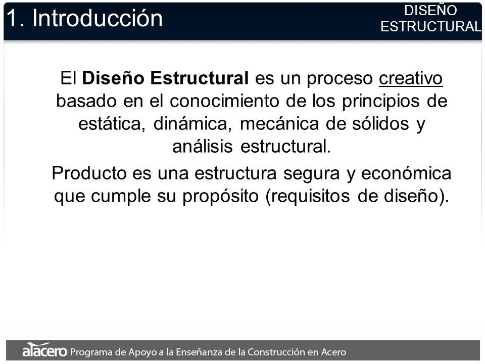 1. Introducción DISEÑO ESTRUCTURAL.
