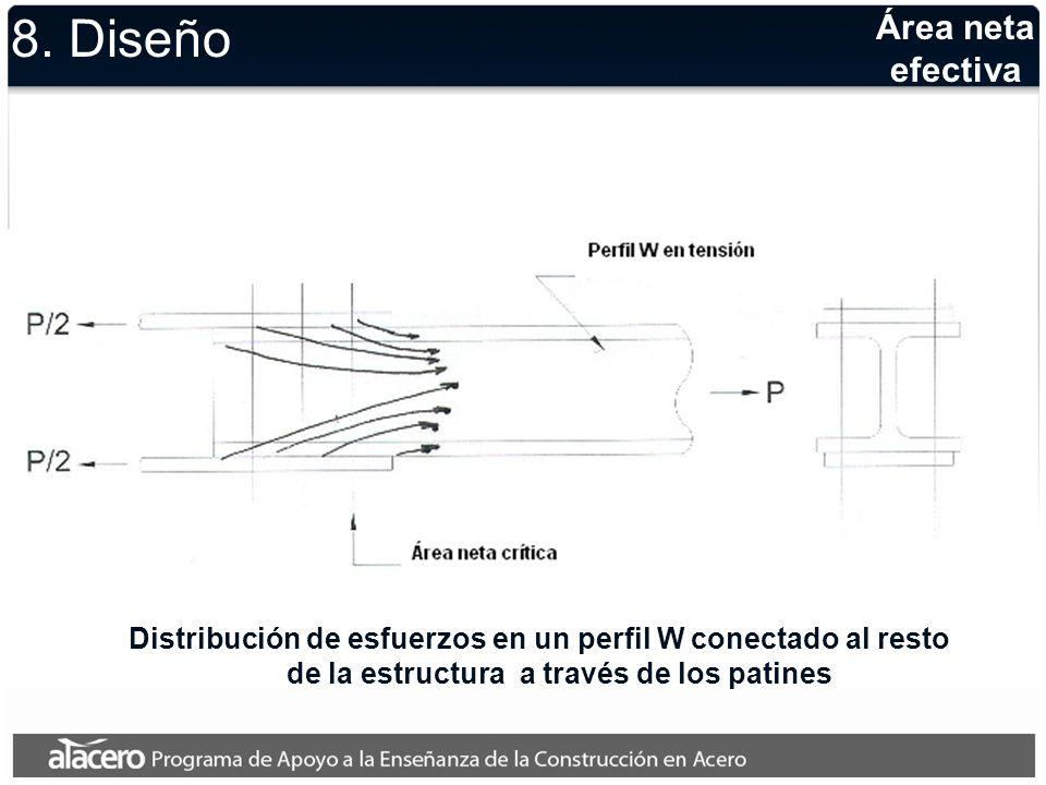 8. Diseño Área neta efectiva