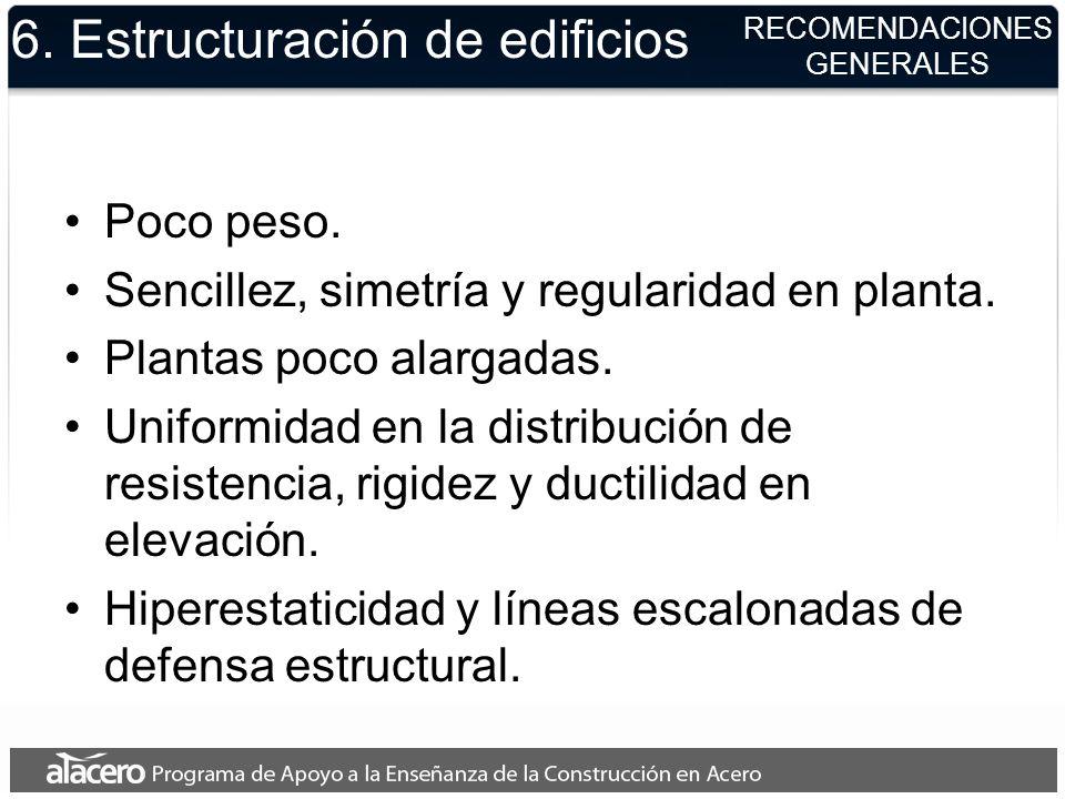 6. Estructuración de edificios