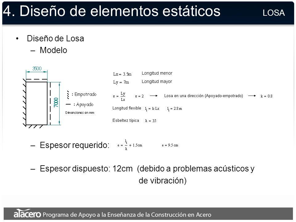 4. Diseño de elementos estáticos