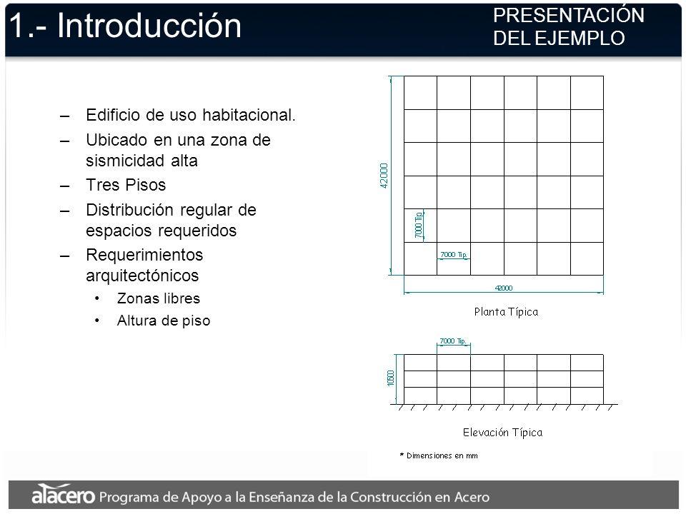 1.- Introducción PRESENTACIÓN DEL EJEMPLO