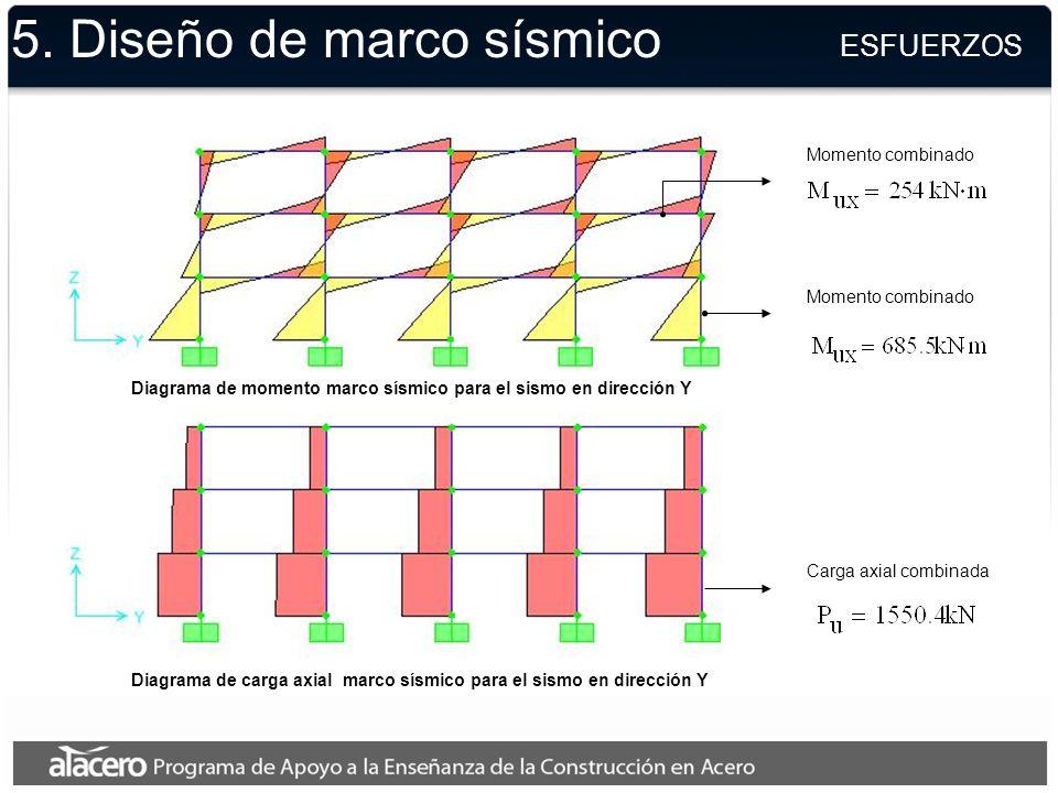 5. Diseño de marco sísmico