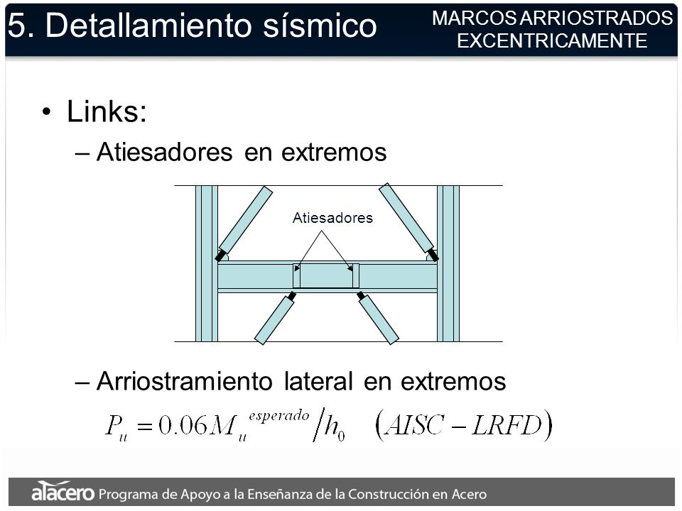 5. Detallamiento sísmico
