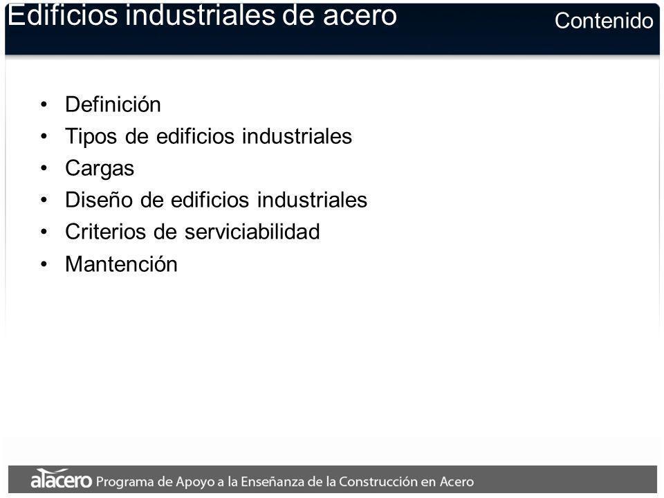 Edificios industriales de acero