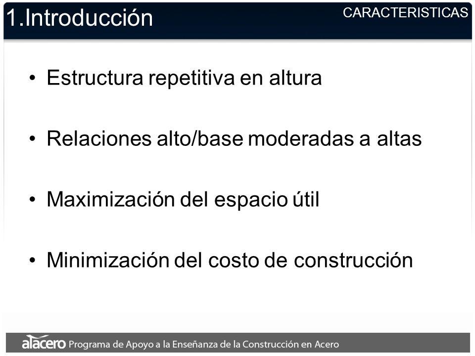 1.Introducción Estructura repetitiva en altura