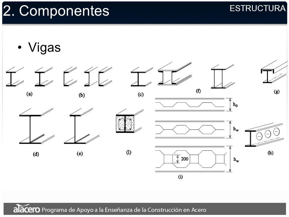 2. Componentes Vigas ESTRUCTURA