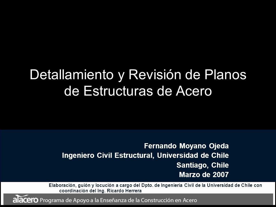 Detallamiento y Revisión de Planos de Estructuras de Acero