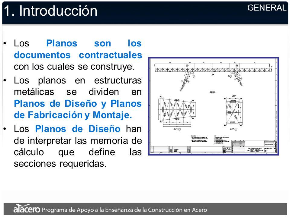 1. Introducción GENERAL. Los Planos son los documentos contractuales con los cuales se construye.